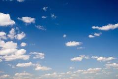 De hemel en de wolken Royalty-vrije Stock Afbeelding