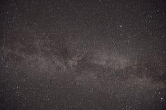 De hemel en de sterren van de nacht stock foto's
