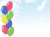 De Hemel van ballons stock illustratie