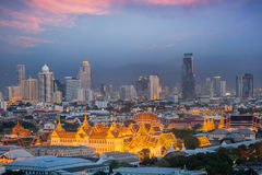 De hemel van Bangkok Royalty-vrije Stock Foto's