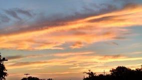 De hemel van Dallas Royalty-vrije Stock Fotografie