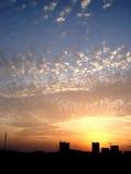 De hemel van de avond Royalty-vrije Stock Afbeeldingen