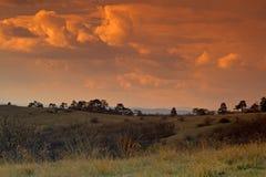 De hemel van de avond Royalty-vrije Stock Foto