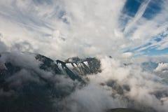 De hemel van de berg Stock Afbeeldingen