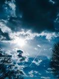 De hemel van de duivel Stock Fotografie