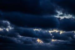 De hemel van de duivel royalty-vrije stock fotografie