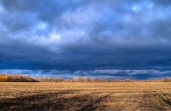 De hemel van de herfst Royalty-vrije Stock Afbeeldingen