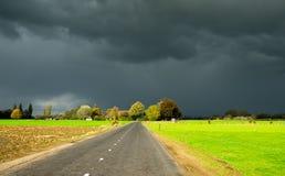 De hemel van de herfst Stock Foto