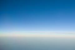 De hemel van de horizon Stock Foto