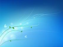 De hemel van de lente Royalty-vrije Stock Afbeeldingen
