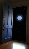 De hemel van de nacht Stock Foto's