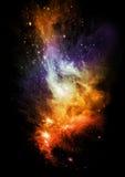 De hemel van de nacht Stock Foto