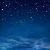 De hemel van de nacht Royalty-vrije Stock Fotografie
