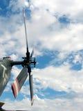 De hemel van de rotor stock foto's