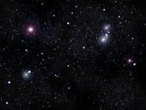 De hemel van de ster stock foto's