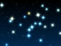 De hemel van de ster Royalty-vrije Stock Afbeeldingen