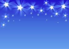 De hemel van de ster vector illustratie