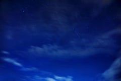 De hemel van de sternacht Stock Afbeelding