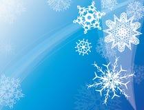 De hemel van de winter vector illustratie