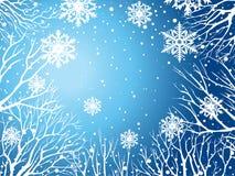 De hemel van de winter stock illustratie