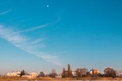 De hemel van de winter Royalty-vrije Stock Afbeeldingen