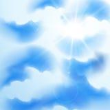 De hemel van de zomer stock illustratie