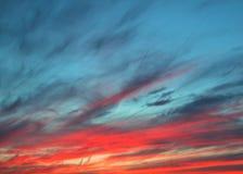De hemel van de zonsondergang Royalty-vrije Stock Afbeelding