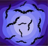 De hemel van Halloween   Royalty-vrije Stock Fotografie