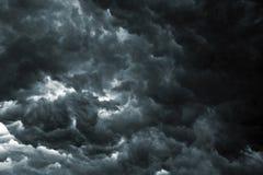 De Hemel van het onweer stock afbeelding