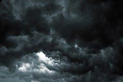 De Hemel van het onweer stock foto's