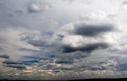De hemel van het onweer Royalty-vrije Stock Fotografie