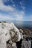 De Hemel van het Water van de rots Royalty-vrije Stock Afbeelding