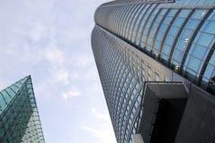 De hemel van het wolkenkrabbersglas Royalty-vrije Stock Afbeelding