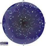 De hemel van het zuiden Royalty-vrije Stock Afbeelding