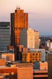De hemel van Johannesburg stock afbeeldingen