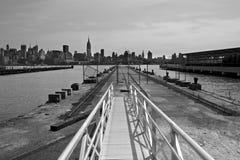 De Hemel van Manhattan Royalty-vrije Stock Foto's