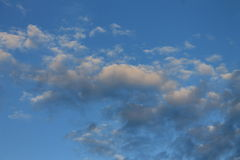 De hemel van Oklahoma Stock Afbeeldingen