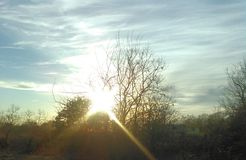 De hemel van Oklahoma royalty-vrije stock foto's