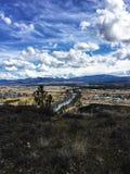 De hemel van Spokane stock afbeeldingen