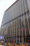 De Hemel van de Stadsmanhattan de V.S. de V.S. van horizonnew york Royalty-vrije Stock Foto
