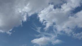 De hemel van de de tijdspannezomer van de Cloudscapetijd hd stock video