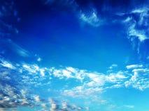 De hemel van wolken Stock Afbeelding