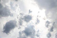 De hemelachtergrond stock fotografie