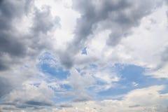 De hemelachtergrond stock afbeeldingen