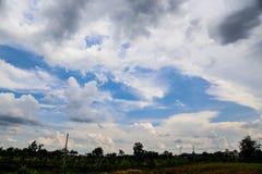 De hemelachtergrond Stock Afbeelding