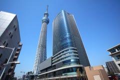 De hemelboom van Tokyo, Japan Stock Afbeelding