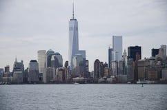 De hemellijn van Manhattan Royalty-vrije Stock Afbeelding