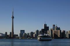 De hemellijn van Toronto Stock Afbeeldingen
