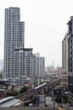 De hemeltrein in Bangkok Thailand Royalty-vrije Stock Afbeeldingen