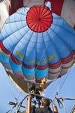 De hemelvoertuig van de ballonmens Stock Fotografie